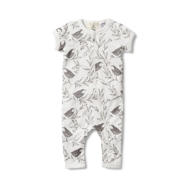 LITTLE FLOW SHORT SLEEVE ZIPSUIT