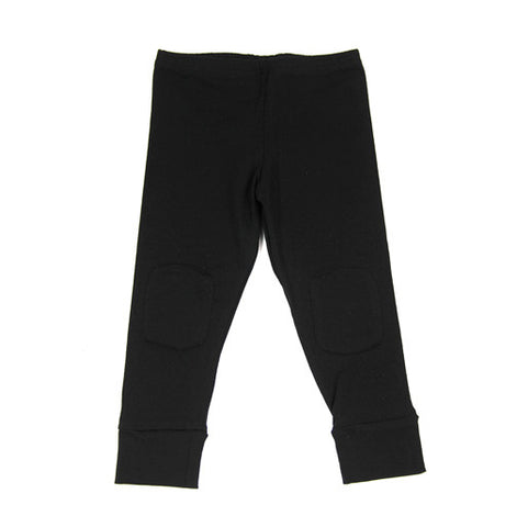 Black Brushed Teddy Legging