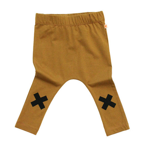 Brown Logo Pant