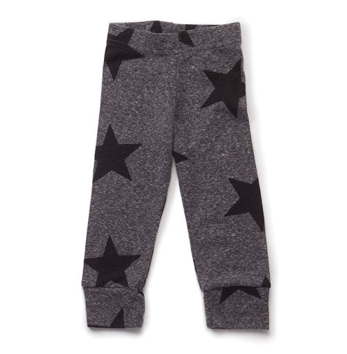 Charcoal Star Leggings