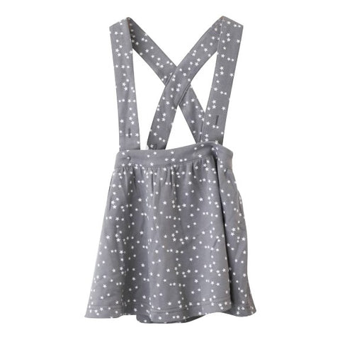Grey Stars Pinafore