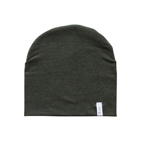 Forrest Green Bamboo Beanie