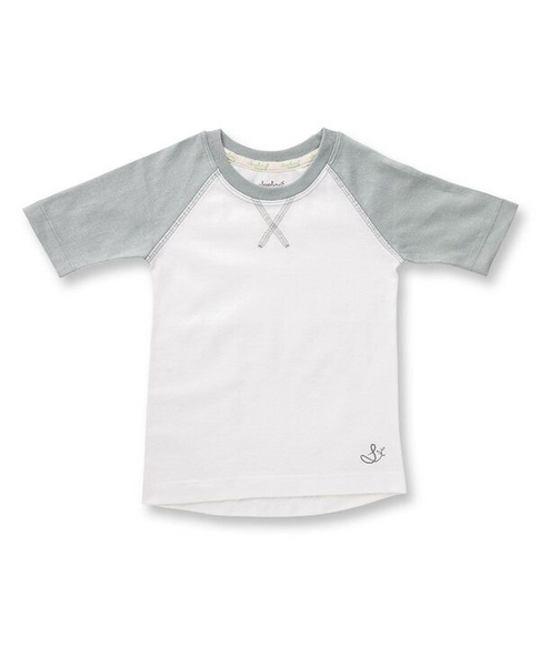 Neutral Grey Raglan Tee