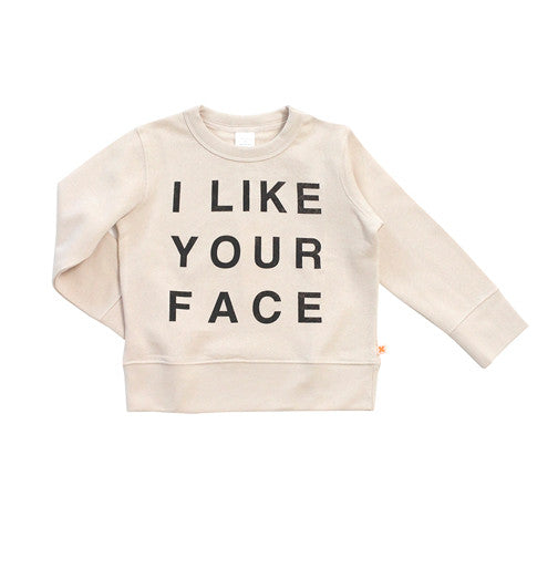 I Like Your Face Sweater