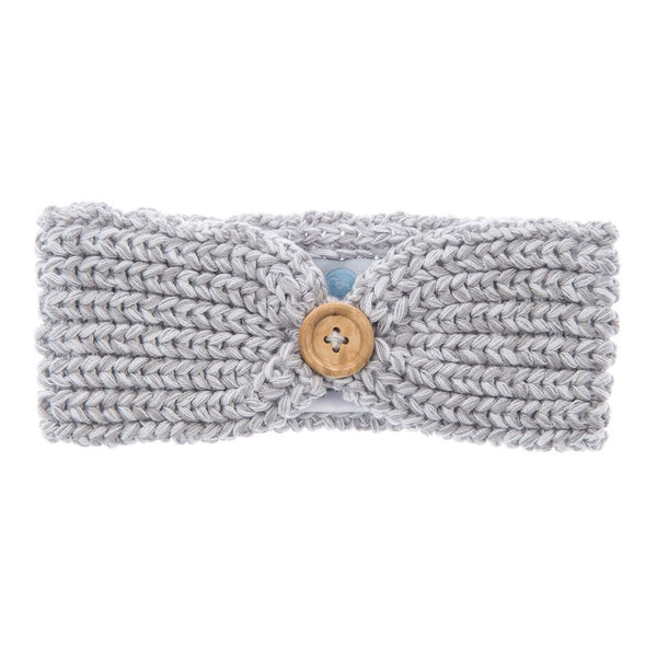 Knit Headband Grey
