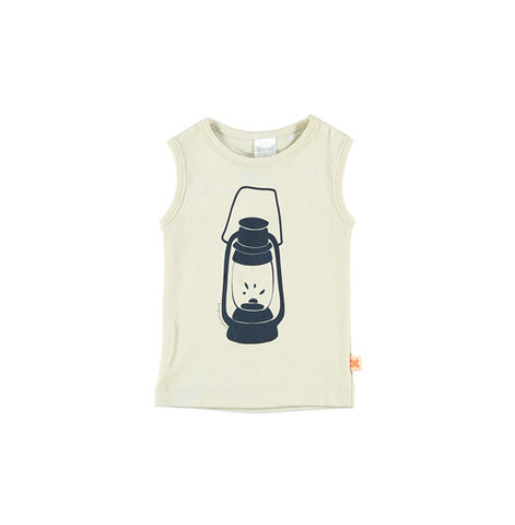 Big Lantern Graphic Tank Top