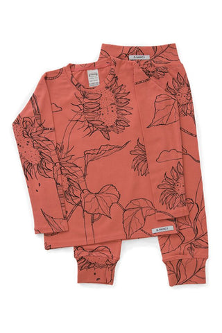 Papaya Sunflower Long PJ