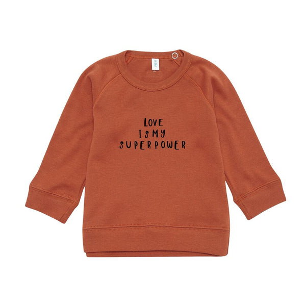 Rust Love Sweater