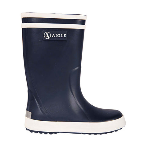 Marine Blue Lollypop Rainboots