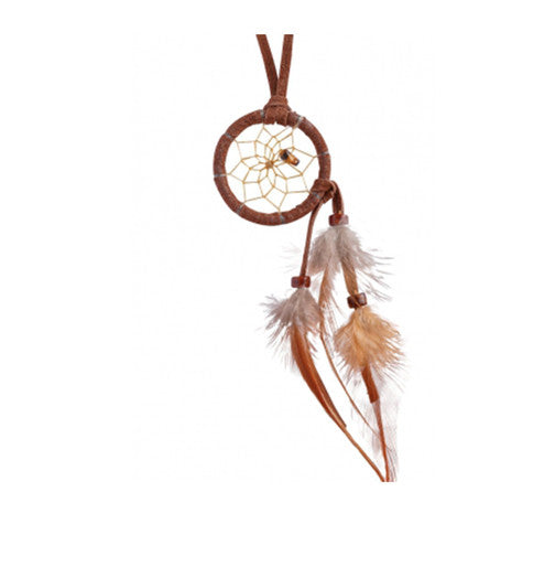 Mini Dream Catcher with stone