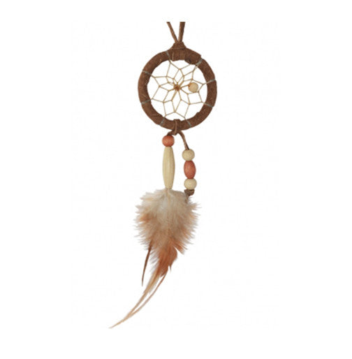 Mini Wooden Bead Dream Catcher
