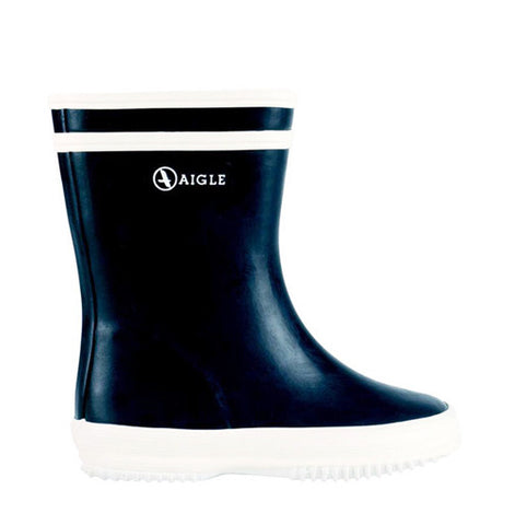 Marine Blue Baby Flac Rainboot