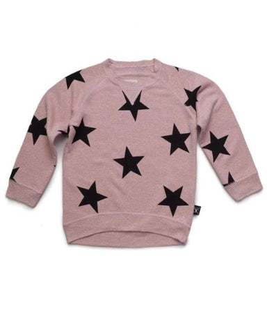 Pink Star Pullover