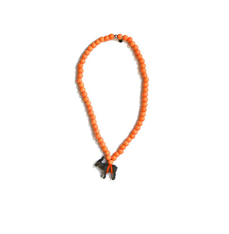 Orange Pray4Trax necklace
