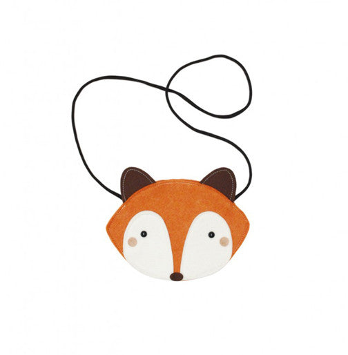 Orange Raccoon Bag