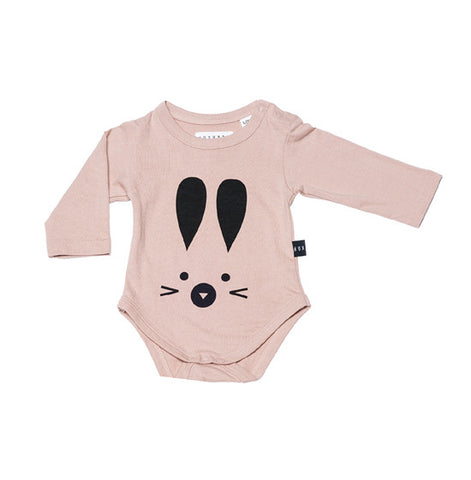 Fawn Hux Bunny Long Sleeve Onsie