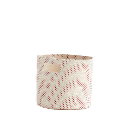 Pink Pin Dot Pint