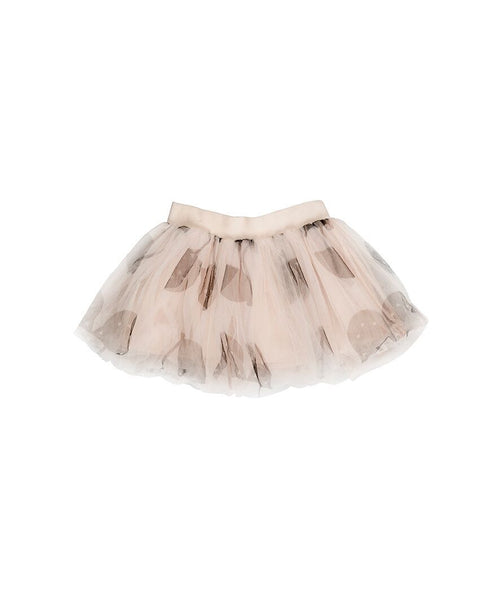 Shell Tulle Skirt