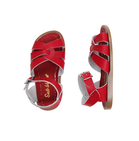 The Original Salt Water Sandal Red