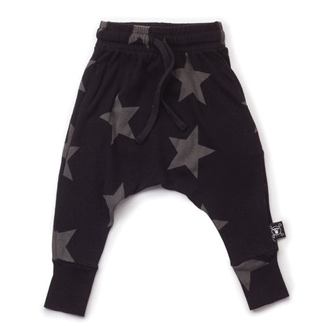 Light weight Black Star Baggy Pants