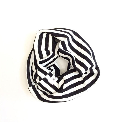 Child Infinity Scarf (Black,Stone,Stripe,Grid)