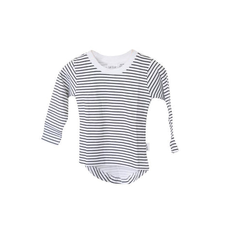 French Stripe Long Sleeve Tee