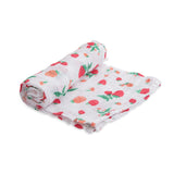 Little Unicorn Strawberry Swaddle