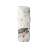Little Unicorn Muslin Hedgehog Swaddle
