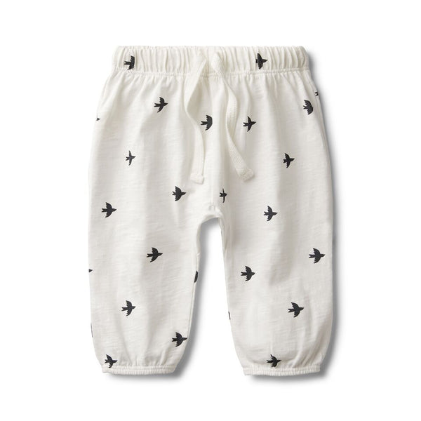 Fly Away Slouch Pant White