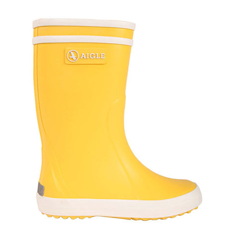 Yellow Lolly Pop Rain Boots