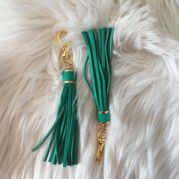 Makeup Junkie Tassel - Teal Green