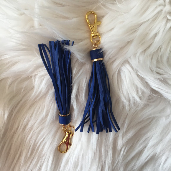 Makeup Junkie Tassel - Royal Blue