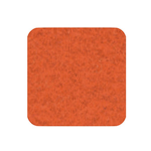 Felt coaster 11x11cm, orange
