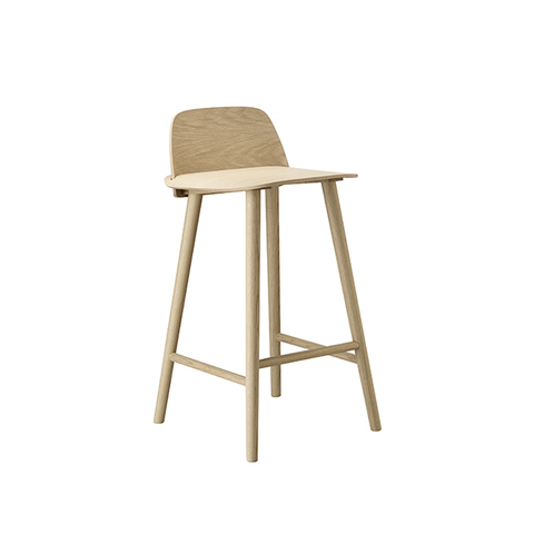 Nerd Stool, Natural Oak 65 cm