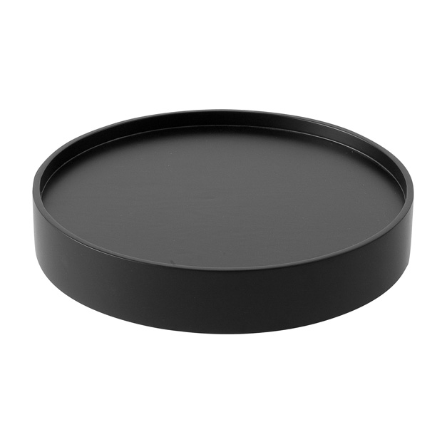 Drum Tray, Large Black
