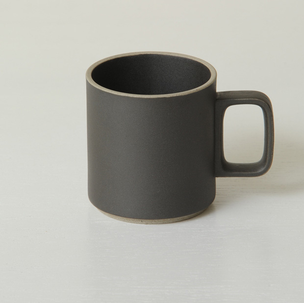 Hasami Porcelain Mug, 13oz Black