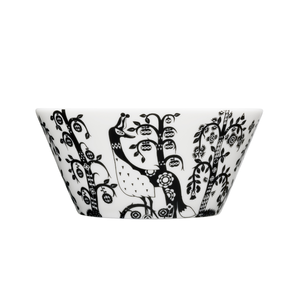 Taika Pasta Bowl Black/White, 20 oz