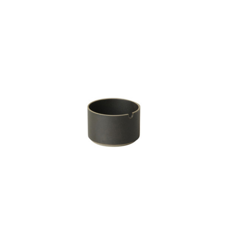 Hasami Porcelain Sugar Pot, Black