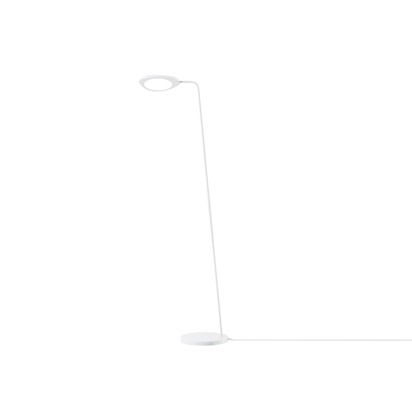 Leaf Floor Lamp, White