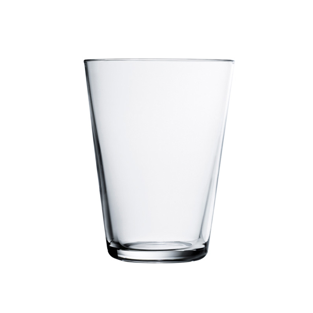 Kartio Tumbler 13 oz, Clear, Set of 2