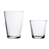 Kartio Tumbler 7 oz, Clear, Set Of 2