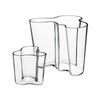 Aalto Vase 3.75 in, Clear