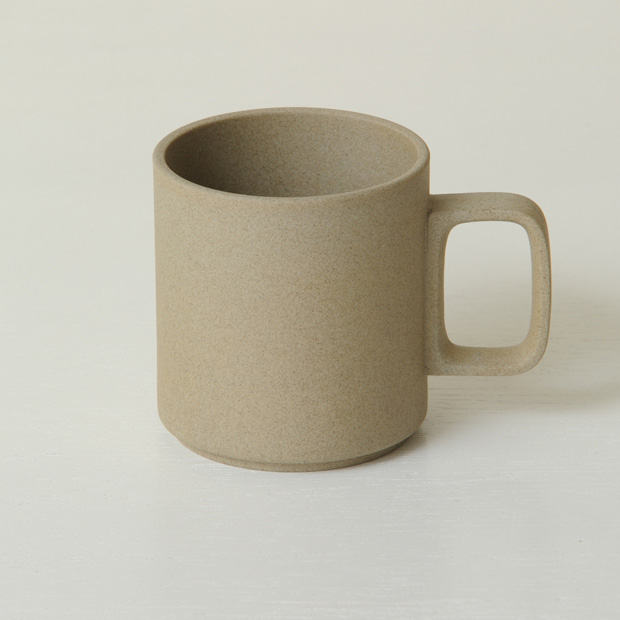 Hasami Porcelain Mug, 13oz Brown