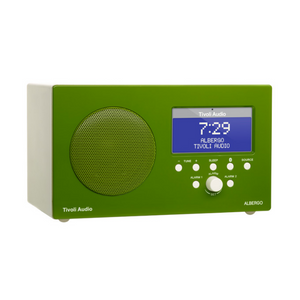 Albergo Clock Radio, Bluetooth, Green