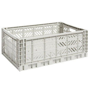 Colour Crate, Large, Light Grey