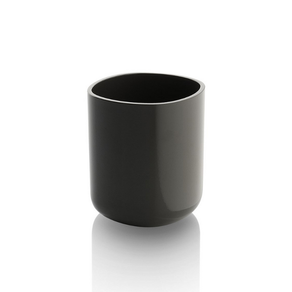 Birillo Toothbrush Holder, Dark Grey