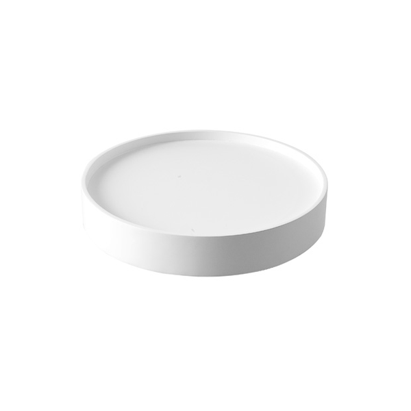 Drum Tray, Small White