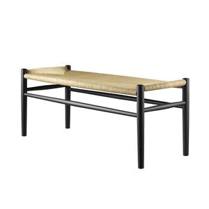 J83B Bench, Black/Natural