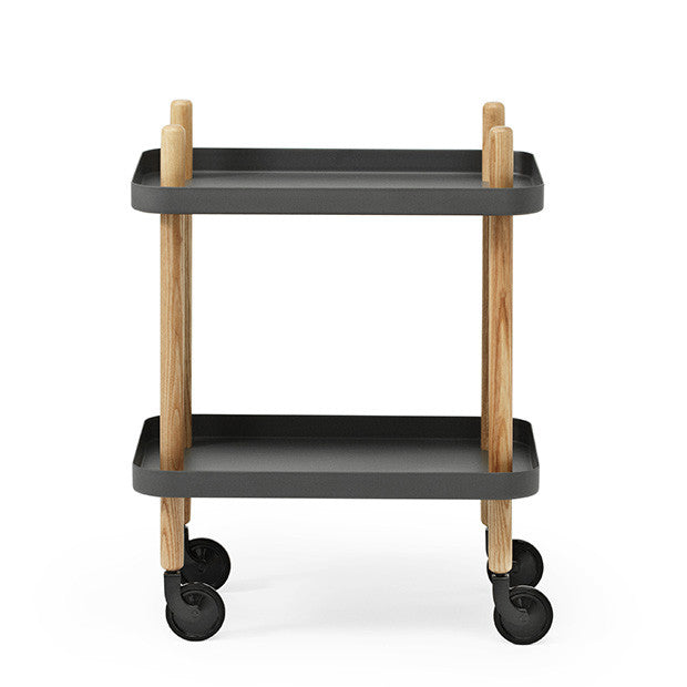 Block Table, Dark Grey