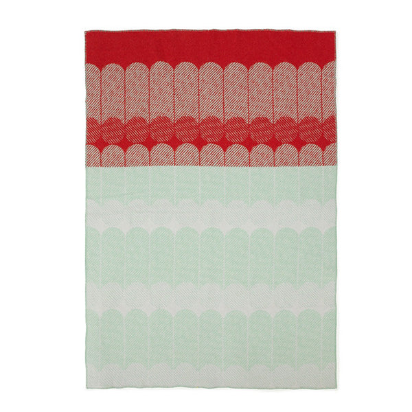Ekko Throw Blanket Rasberry/Mint